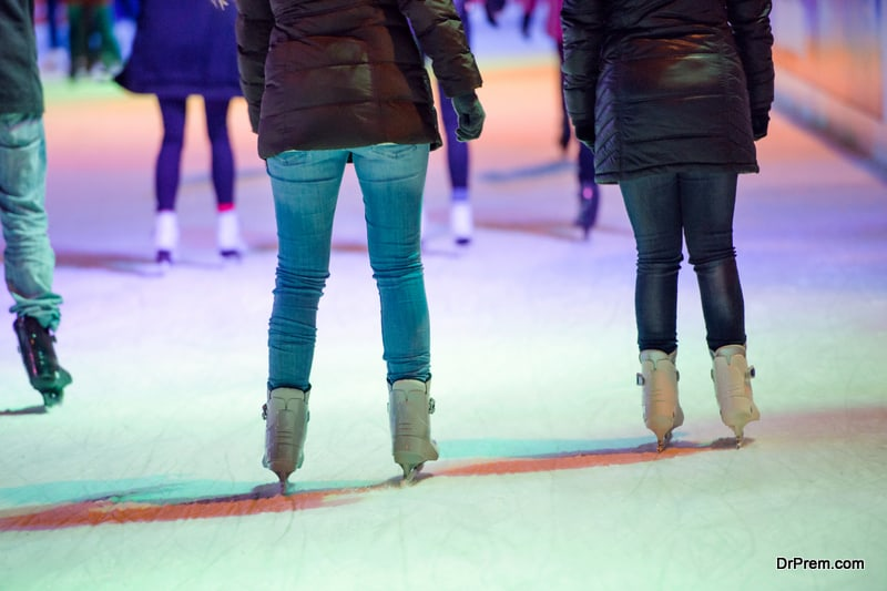 Ice Skating Rink in Kuwait