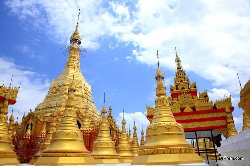 Thai people follow Theravada Buddhism