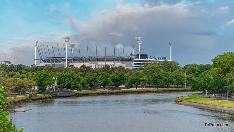 The Melbourne Cricket Ground