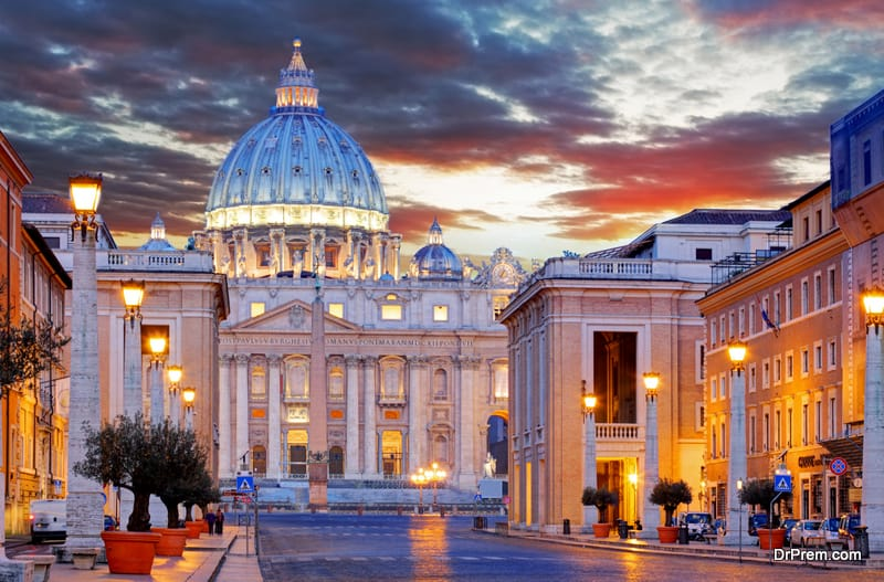 The-Vatican-St-Peters-Basilica