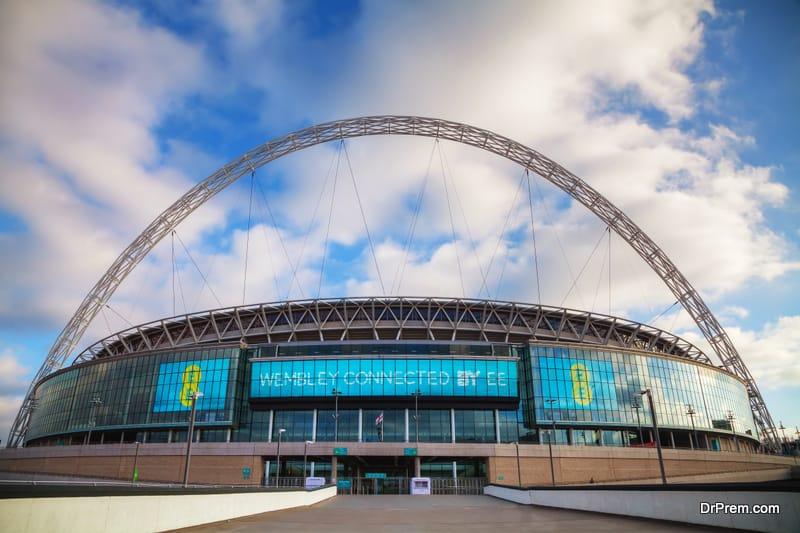 Wembley-stadium-in-London-UK