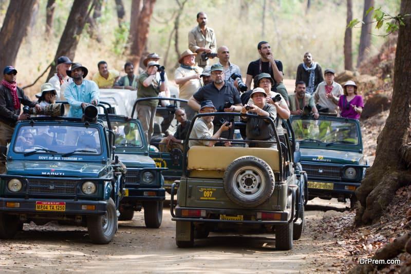 excess tourist influx