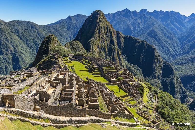 legendary Inca treaded tracks