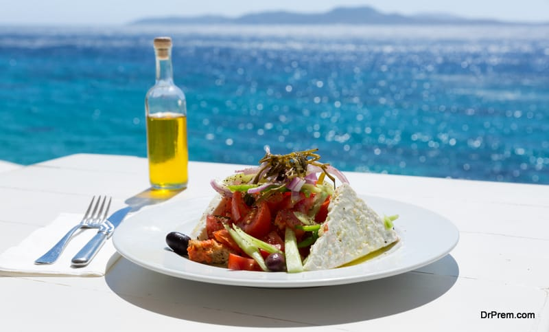 local cuisine of greece
