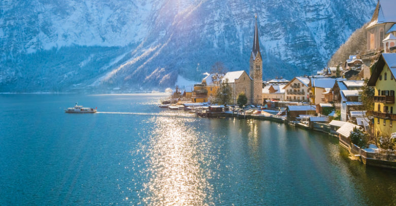 most scenic small towns in Austria appealing for tourists