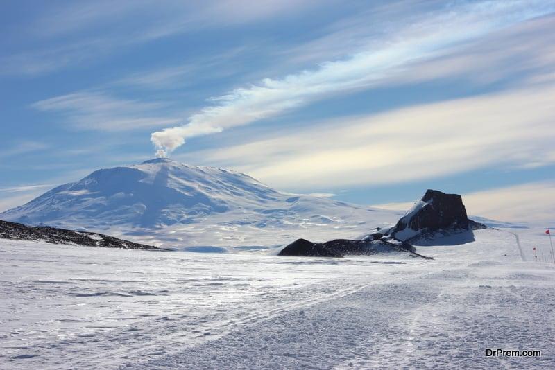 Mt Erebus, Antarctica