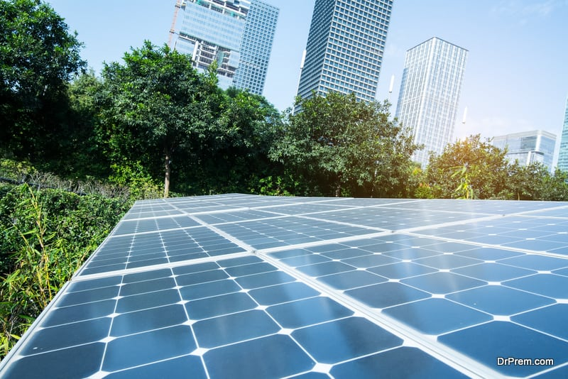 solar powered hotel