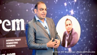 Photo of Dr Prem Jagyasi Workshop on Leadership and Marketing for Startups.