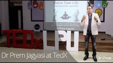 Dr Prem Jagyasi TedX