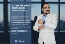 Photo of 7 Tips for Small Businesses During Times of Crisis. Podcast by Dr Prem Jagyasi.