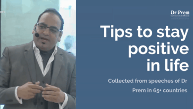 Photo of How to Deal with Problems and Tips on Staying Positive in Life by Dr Prem Jagyasi