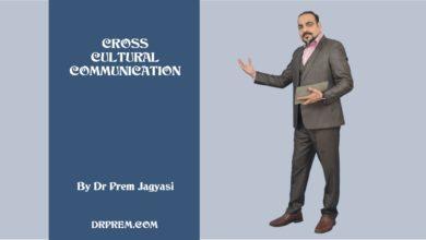 Photo of Cross Cultural Communication By DR PREM JAGYASI