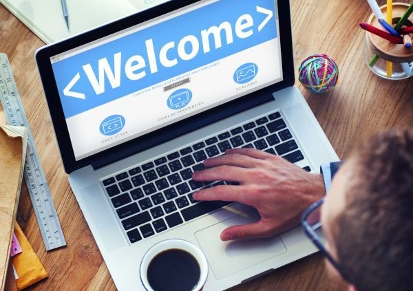 Welcome Greeting Happiness Enjoyment Expression Concepts
