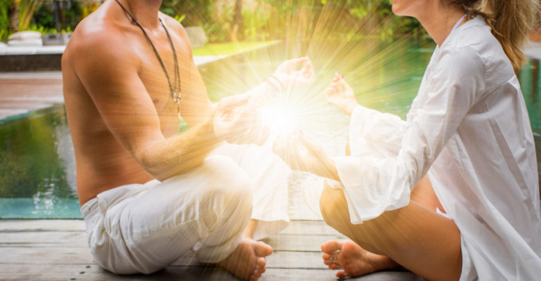 Tantric Yoga poses for developing intimacy between partners