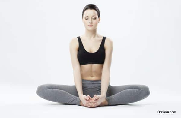 Soothing yoga poses you can do in bed