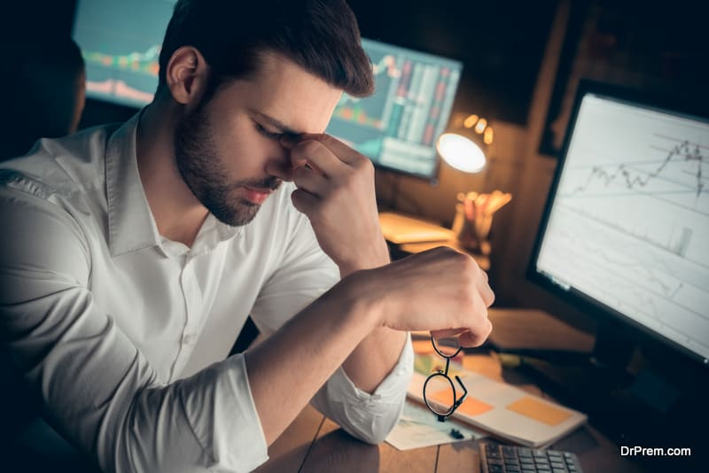 fatigue during work hours