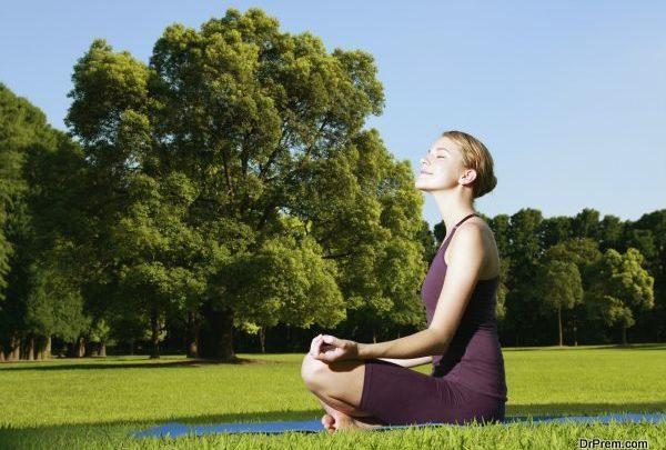 Meditation helps beat stress