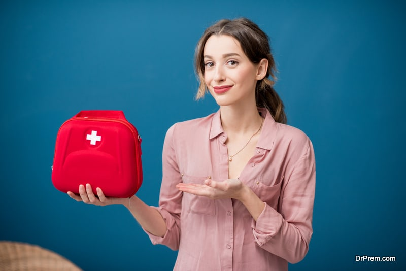Essential items to carry in your medical kit