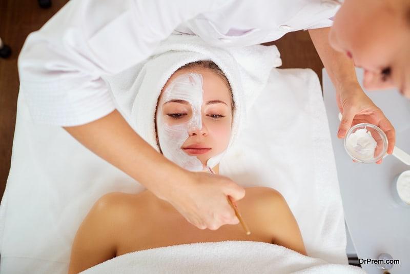 Skin care using creams