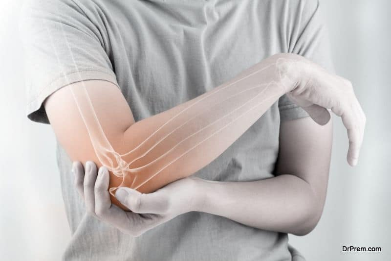 man suffering from Joint Pain