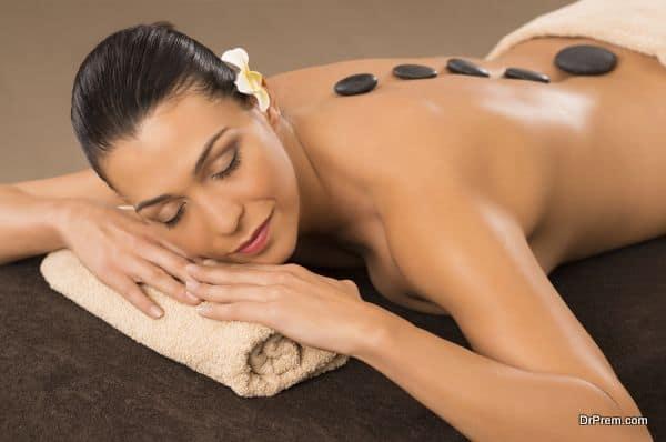 wellness stone massage