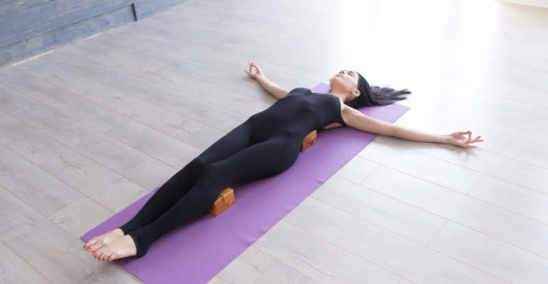 yoga-time-with-a-Yoga-Block