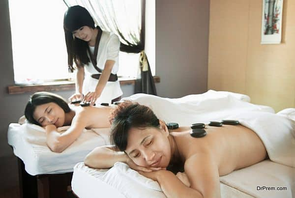 therapeutic effects of a spa