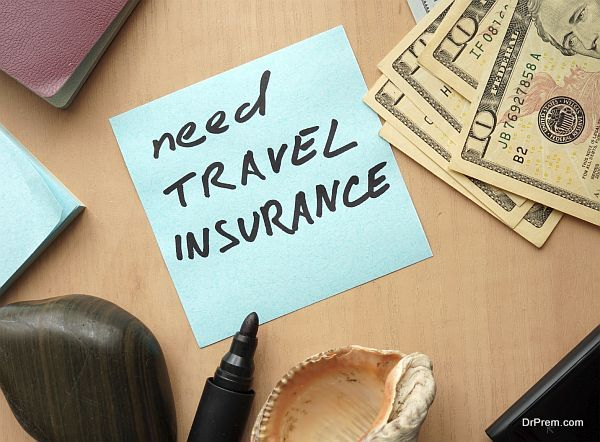 Travel insurance expenses