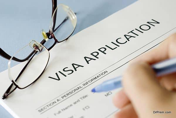 Visa and passport expenses