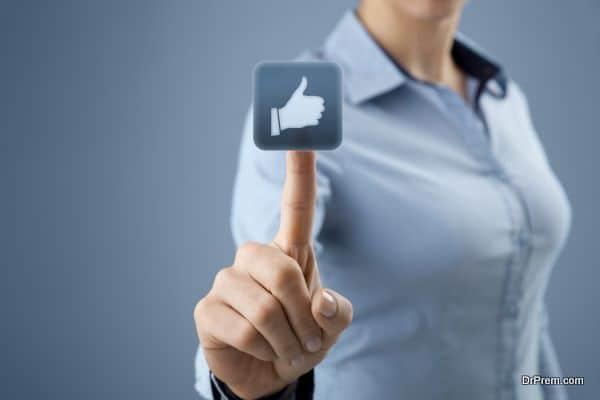 Like - social network
