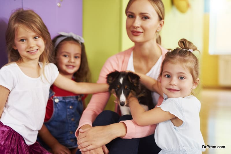 Animal Assisted Therapy help kids