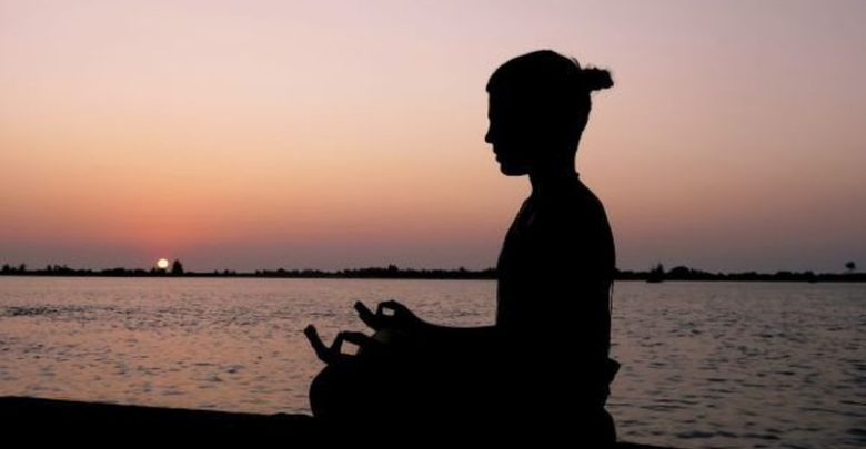woman doing Kabbalah Meditation