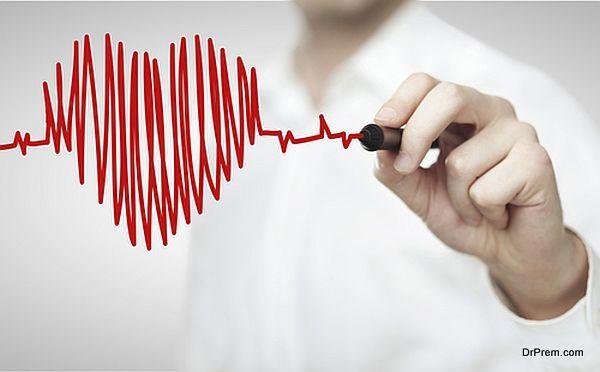 measuring heartbeat