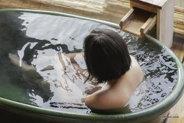 mineral-bathing