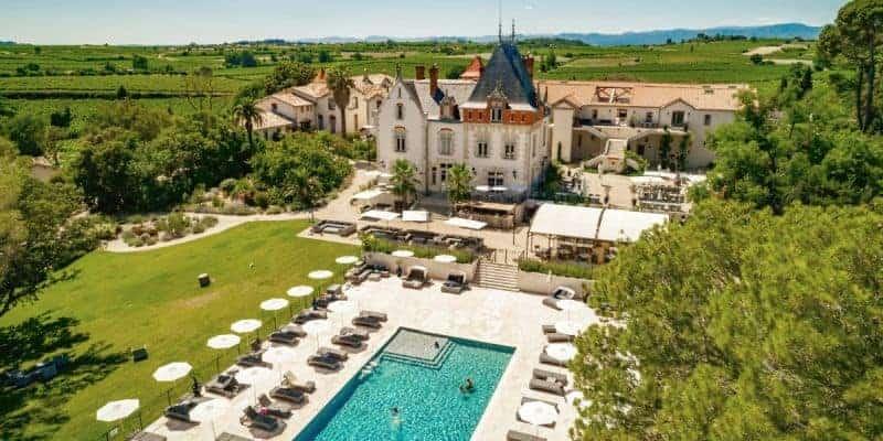 Chateau St Pierre de Serjac, France