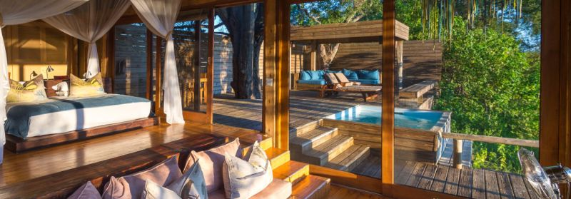 Escape to Shape, wellness safari at Vumbura Plains, Botswana