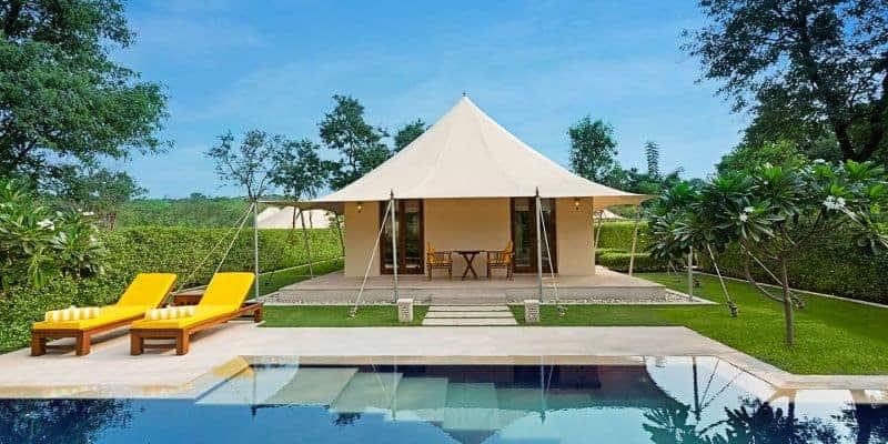 Oberoi Sukhvilas Resort & Spa, New Chandigarh, India