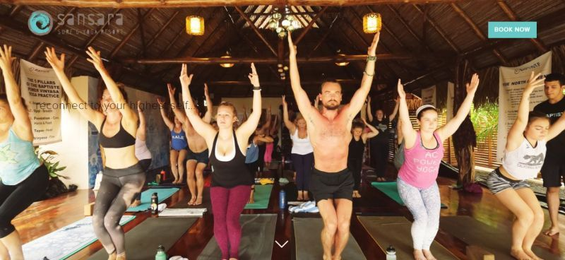 Sansara Surf and Yoga Retreat, Panama