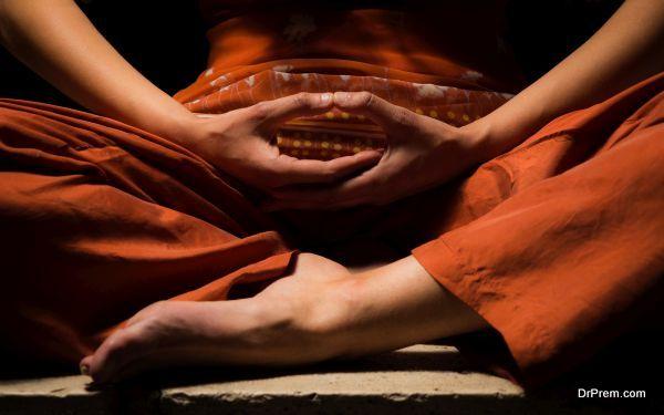 Meditation, looking for enlightenment