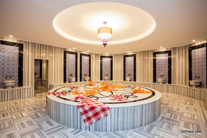 Turkish bath modern design