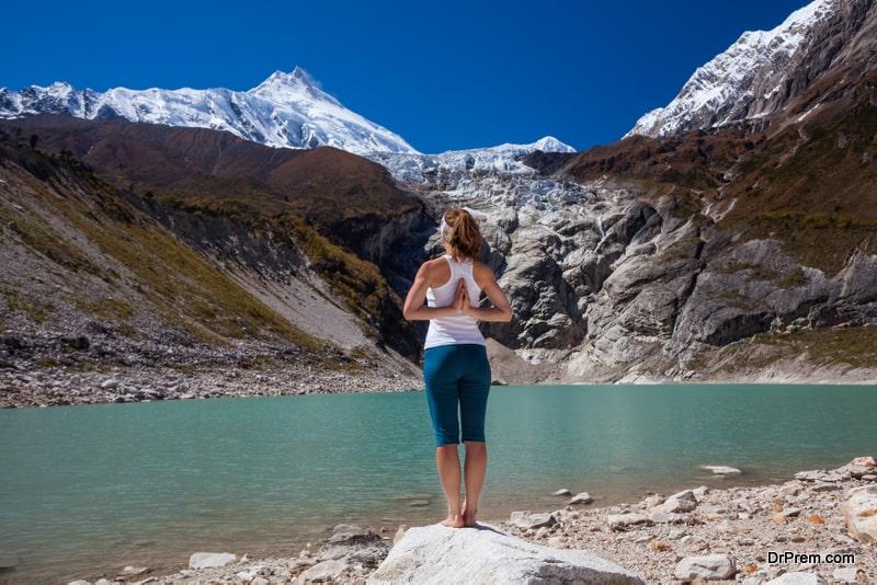 adventure and mind-body calming yoga programs
