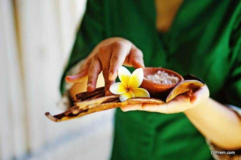 Bali spa and massage
