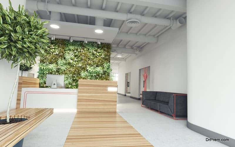 Photo of Biophilic architecture contributes to workplace wellness