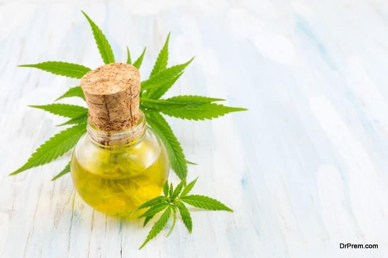 (CBD) oil extracted from hemp