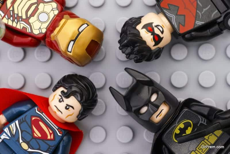 The world of superheroes