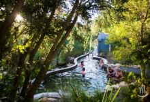 Peninsula hot springs spa day trip from Melbourne, Australia