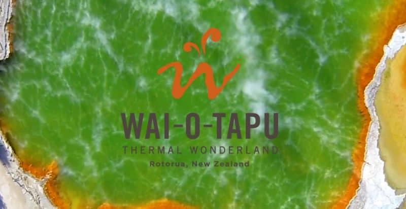Wai-O-Tapu Thermal, Rotorua, New Zealand