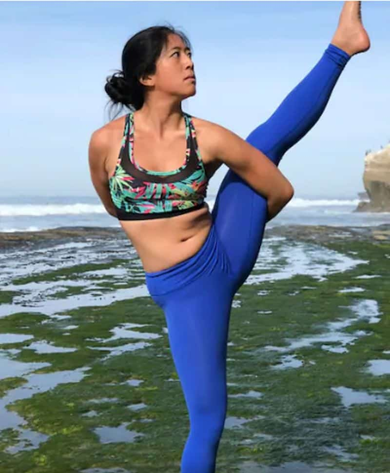 Yoga workshop and photo shoot, San Diego