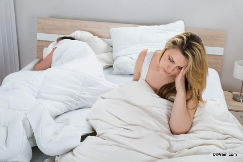 frequent sleep disturbance at night