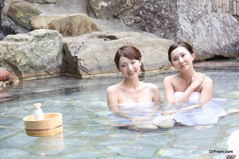 Immersion in Onsen
